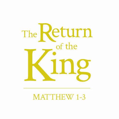 Matthew 1-3 series